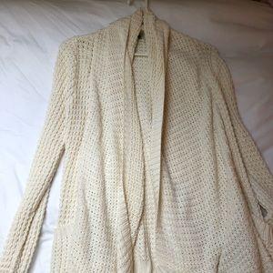 Offwhite ripcurl open sweater